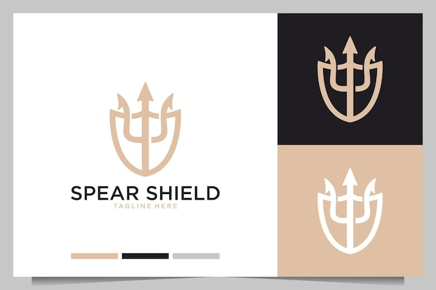 Scudo lancia elegante design del logo