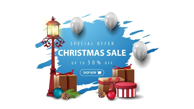 Offerta speciale, vendita di natale