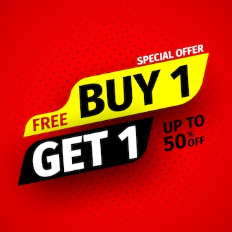 Offerta speciale . banner di vendita. illustrazione.