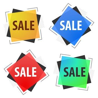Banner di vendita offerta speciale per il vostro disegno