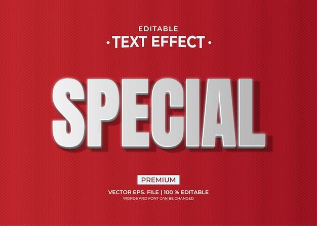Modello speciale effetto testo platino
