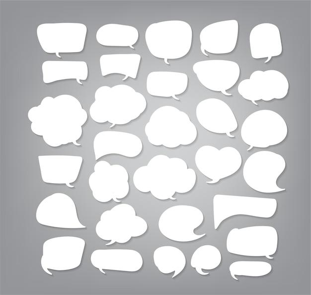 Modello di disegno di carta tagliata a fumetto illustrazione vettoriale per il tuo business