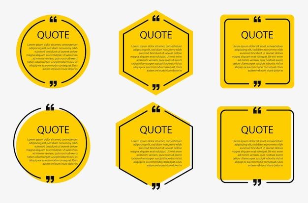 Modelli di bolle di discorso e cornici di citazione di comunicazione