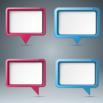 Icona di bubl di discorso