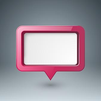 Icona di bubl di discorso.