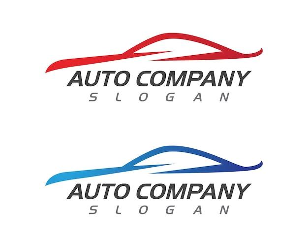 Velocità auto car logo template illustrazione vettoriale icona design