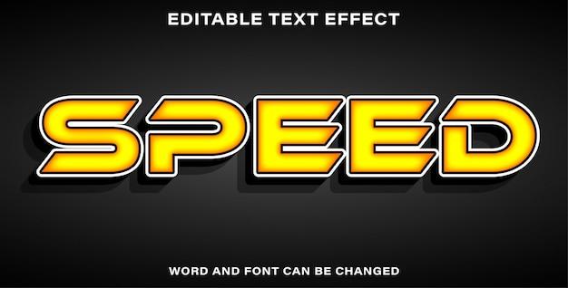 Accelera l'effetto del testo