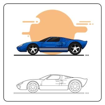 Auto veloce facilmente modificabile