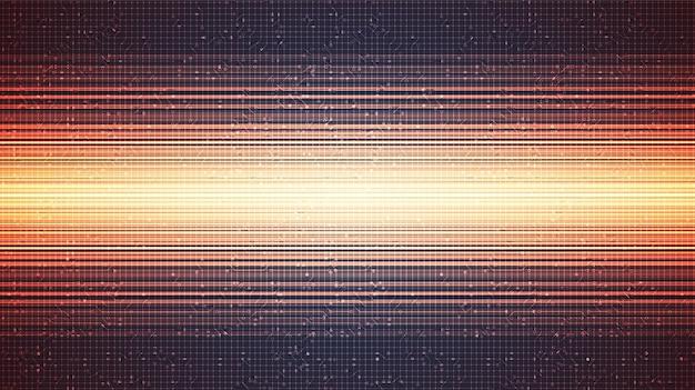 Backgroun di tecnologia rosso di velocità