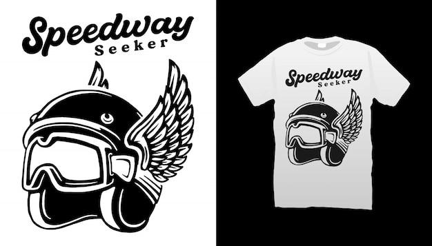 Design tshirt speedway seeker