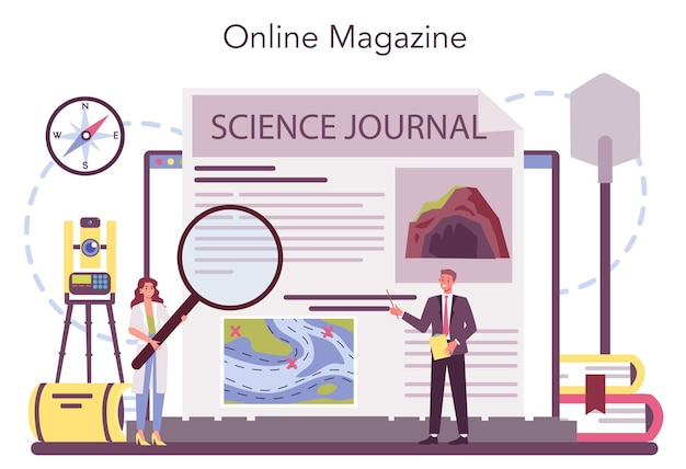Piattaforma o servizio online di speleologo