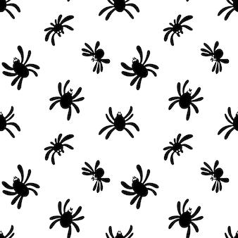 Modello di ragno su sfondo bianco