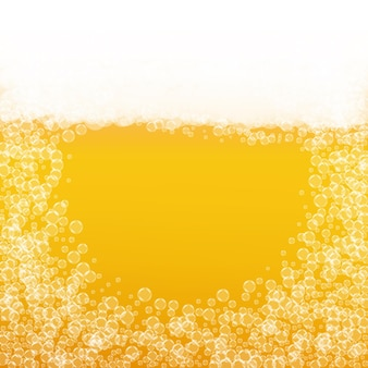 Birra spruzzata. sfondo per birra artigianale. schiuma dell'oktoberfest. festa