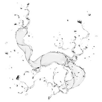 Spruzzi d'acqua elemento di design illustrazione