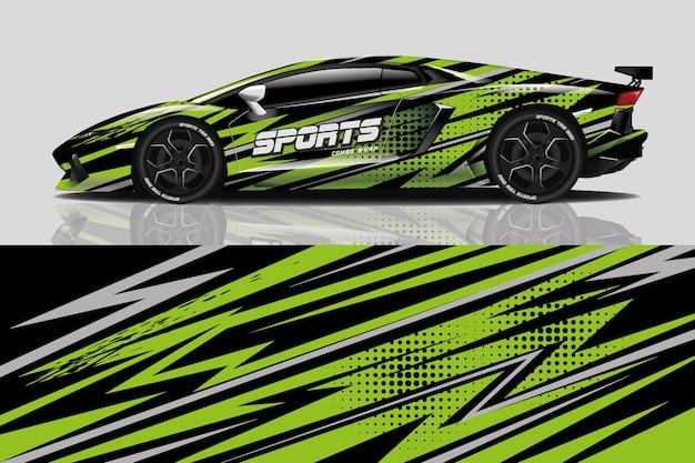 Pellicola adesiva per auto sportive