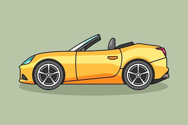 Illustrazione di auto sportive