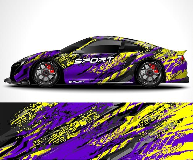 Design avvolgente per auto sportive e livrea del veicolo