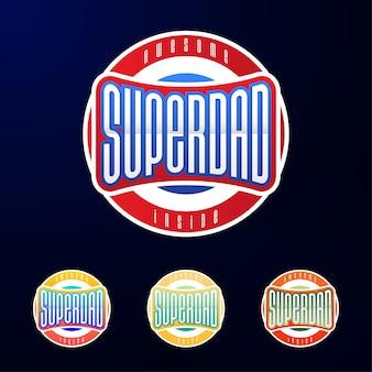 Tipografia emblema dello sport