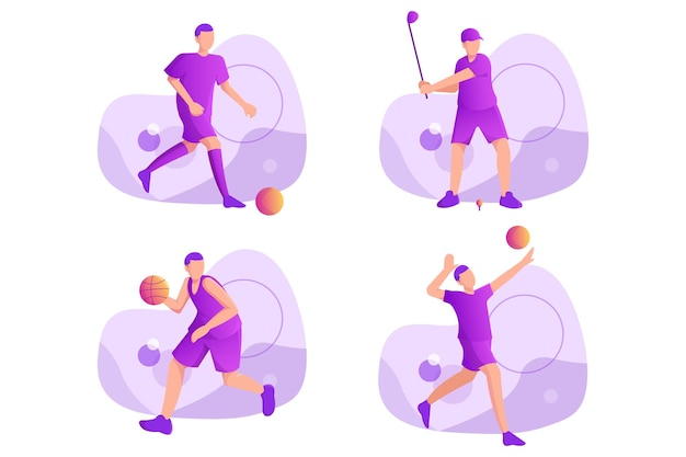 Illustrazione sportiva