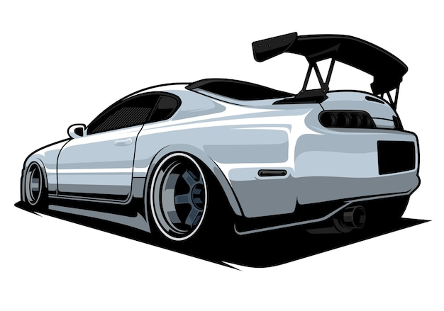 Automobile sportiva jdm