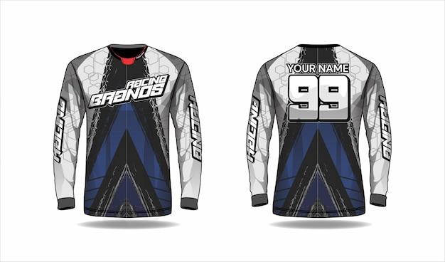 Concetto di design di maglia sportiva