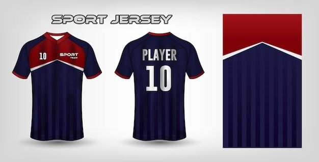 Modello di tessuto in tessuto di design jersey sportivo
