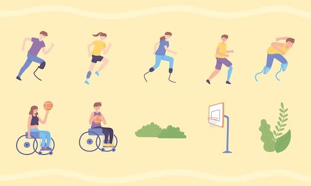 Sportivi con protesi