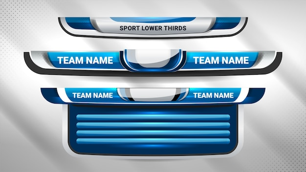 Trasmissione del tabellone sportivo e terzi inferiori