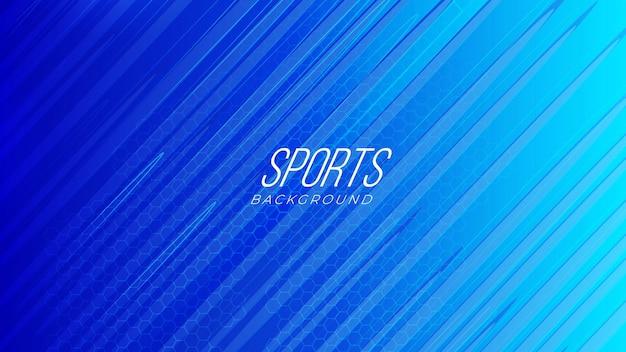 Sfondo astratto sportivo