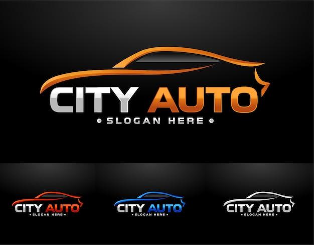 Logo dell'auto sportiva