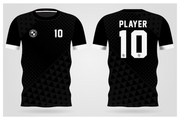 Modello di maglia sportiva per uniformi della squadra e design della maglietta da calcio
