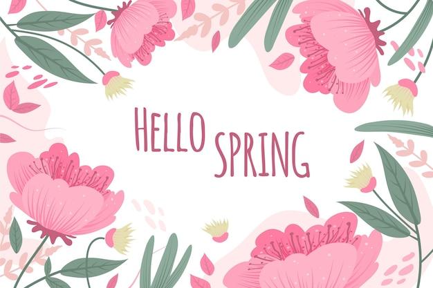Sfondo di primavera