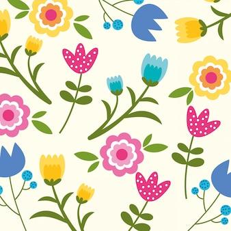 Sfondo floreale di primavera