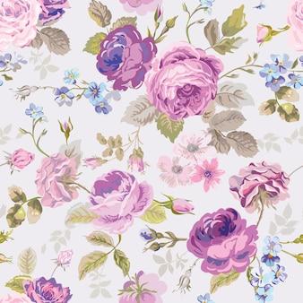 Modello di fiori di primavera