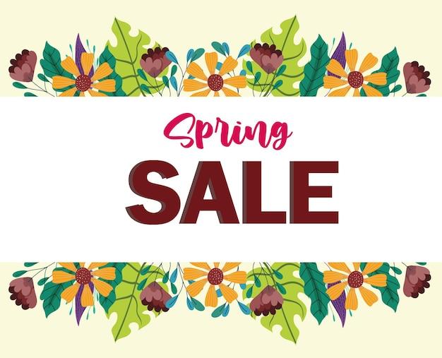 Flora di vendita di primavera