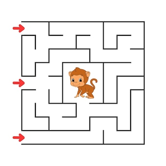 Labirinto quadrato.