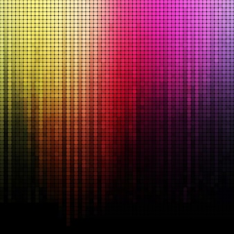 Colore arcobaleno sfondo mosaico quadrato