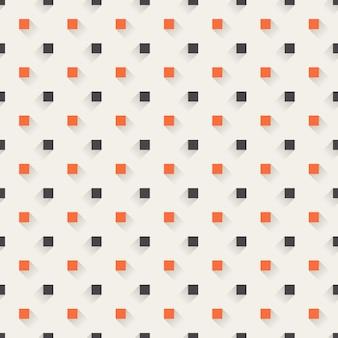 Modello quadrato, fondo geometrico astratto. illustrazione di stile creativo ed elegante