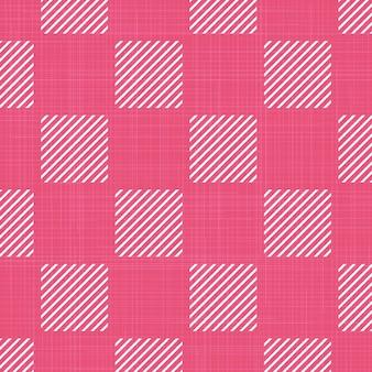 Motivo quadrato su tessuto, sfondo geometrico astratto. illustrazione di stile creativo e di lusso