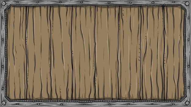 Cartello in legno quadrato