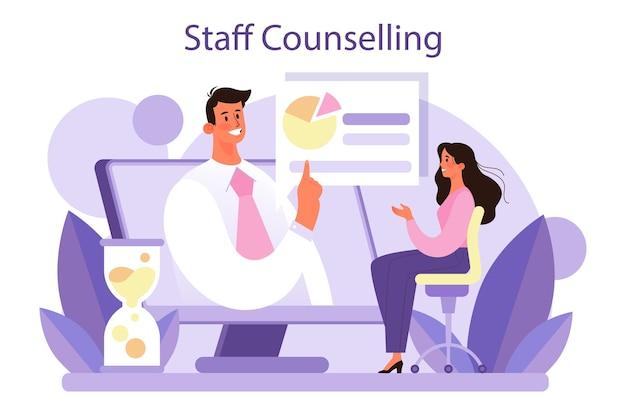 Concetto di consulenza del personale