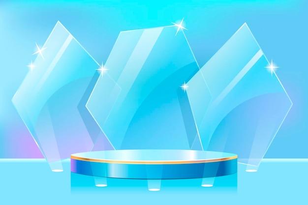 Progettazione del palco del podio