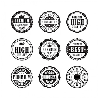 Francobolli nove collezione premium di alta qualità