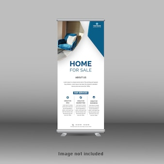 Stand nuovo design modello standee banner roll up