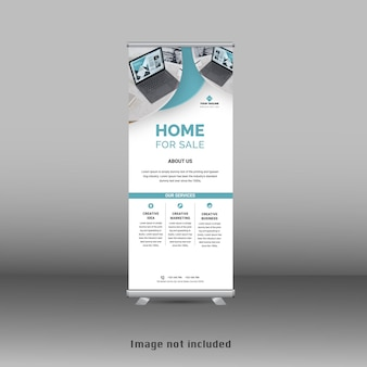 Modello standee banner roll up standee