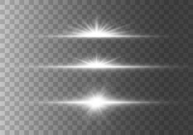 Stella scoppiata di scintillii su sfondo trasparente