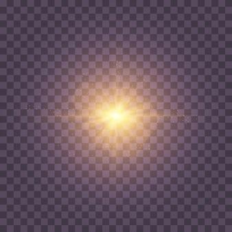 La stella è esplosa di scintillii.