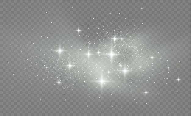 La polvere di stelle scintilla in un'esplosione