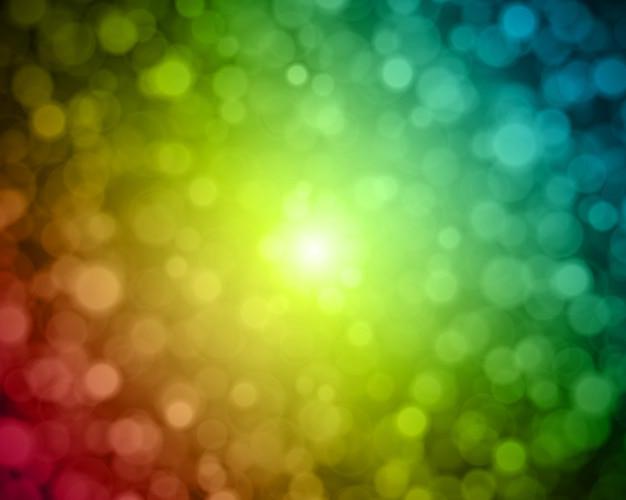 Flash stella con sfondo astratto di polvere leggera.
