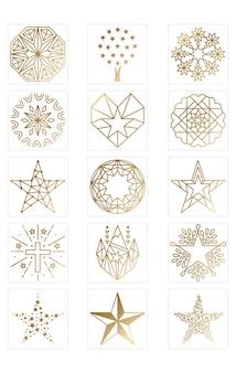 Design del logo a stella per il branding